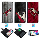 Arizona Coyotes Sliding Leather Case For iPhone 6 7 8 Plus X Xs Xr Max $8.49 USD on eBay