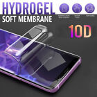 10D Soft Hydrogel Clear Full Coverage Screen Protector Gel Film For Smart Phone