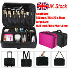 Professional Large Make Up Bag Vanity Case Nail Tech Cosmetic Storage Travel...