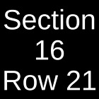 2 Tickets NHL Preseason: New York Islanders @ New Jersey Devils 9 21 19