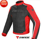Jacket Dainese Hydra Flux Dry Black Red Motorcycle Triumph Yamaha $348.66 AUD on eBay