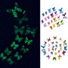 12pcs Luminous Glowing Butterfly Decal Art Wall Stickers Home Decor Diy Stickers