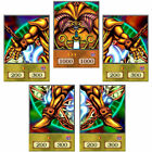 Yugioh ORICA 5x-Set: Exodia Complete Set (HOLO/COMMON) Anime Version | Custom