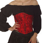 UNDER BUST CORSET WAIST CLINCHER SIZE 6-18 GOTHIC ALTERNATIVE TUTU WASPIE