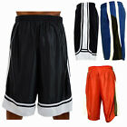 Men Basketball Shorts Heavy Mesh Quick Dry Gym Sport Workout Running w 2 Pockets
