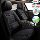 11PCS Universal PU Leather Car Seat Cover Set Fit for Dodge Charger Journey dart $159.99 USD on eBay