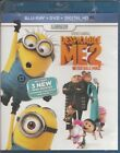 Despicable Me 2 (Blu-ray/DVD, 2013, 2-Disc Set, Includes Digital Copy UltraViole