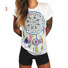 Fashion Women Ladies Short Sleeve T Shirt Tops Blouse Heart Printed Casual Tees