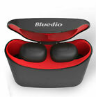 Bluedio Bluetooth Sports Wireles Earphones charging box Earbuds Stereo Headphone