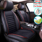 PU Leather Car Seat Cover Cushion Full Set Fit for Dodge Charger Journey Durango $226.65 USD on eBay