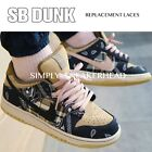 Внешний вид - NEW OVAL SB DUNK REPLACEMENT SHOELACES NIKE DUNK LACES HIGH LOW SKATEBOARDING