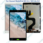 For Huawei MediaPad M3 8.4 / M3 Lite 8.0 LCD Display Touch Screen Assembly AAA