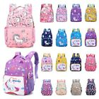 Kids Girls Plush Unicorn Backpack Rucksack School Travel Bags Many Styles US wcl