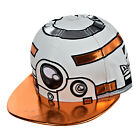New Era Star Wars Character Face Herodr Men's Fitted Hat Cap White-Orange-Black