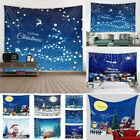 1Pcs Christmas Tapestry Wall Hanging Decor Background Cloth For Home Decoration