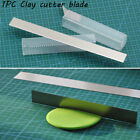 DIY Craft Ceramic Tools Fimo Slicer Polymer Clay Cutter Blade Stainless Steel image