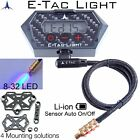 E-Tac Light Compound Bow Sight Light 8-32 15 Level Rechargeable BT Auto On/OFF