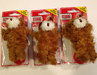 KONG Dr Noys Toy Extra Small 3 PackTeddy Bears-Dog Toys For Small Dogs