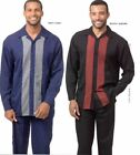 MONTIQUE 2 PC WALKING SET LONG SLEEVES LEISURE SUIT CUFFED BOTTOMS
