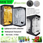 Grow Tent Dark Room Hydroponics 600D Hydroponics High Reflective Non-toxic Room