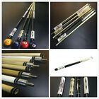 "1~4PCS Brand NEW 58"" Billiard Pool Cue Stick Snooker with 12mm tip 19oz £54.90 GBP on eBay"