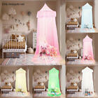 Mesh European Style Bed Canopy Fly Insect Protection Round Dome Mosquito Net image