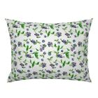 Summer Blueberries Fruit Kitchen Decor Berries Pillow Sham by Roostery image