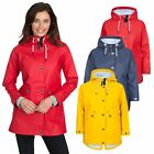 Trespass Shoreline Waterproof Jacket Raincoat With Hood For Ladies