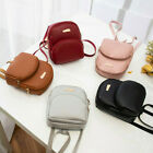 Fashion Women Backpack Travel Leather Handbag Small Rucksack Shoulder Mini Bags image
