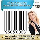 1000 Barcodes UPC Valid Bar codes Number Ebey Amazn Listings Google Itune CA US