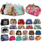 Women Retro Change Coin Purse Small Clutch Wallet Key Card Pouch Holder Handbag image