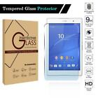 "For Various 7"" 8"" Tablet - Tempered Glass Screen Protector Cover Film"
