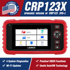 Купить LAUNCH CRP123X OBD2 Scanner Car Diagnostic Tool Check Engine Code Reader ABS SRS