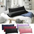 1-2PCS Body Pillow Cover Soft Microfiber Long Pillow Case for Body Pillows USA image