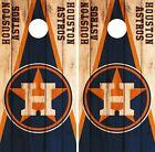 Houston Astros Cornhole Skin Wrap MLB Wood Decal Vinyl Board Logo DR586 on Ebay