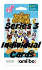 Series 3 Animal Crossing Amiibo Cards, Sold individually! New leaf home horizons