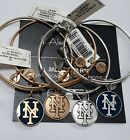 Alex and Ani New York Mets Russian Gold Silver Enamel Choose NWT Bracelet ❤️ on Ebay
