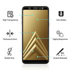 For Samsung Galaxy A7 2018 A8 A6 2018 Full Cover Tempered Glass Screen Protector