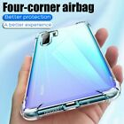 TPU Shockproof Case For Huawei New Phones Cases Transparent Clear Back Cover