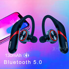 Kyпить Ear Hook Bluetooth 5.0 Earphone Stereo Bass Headphone Wireless Sport Headset Mic на еВаy.соm