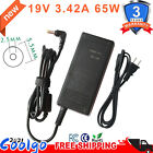 19V 3.42A Laptop Power Supply AC Adapter Charger for Acer Toshiba Gateway 65W