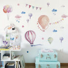 1pc Wall Stickers Decals Animals Flag Balloons Rain For Kids Room Home Decor