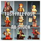 Star Wars Minifigures, Darth Vader, Stormtrooper, Yoda, boba Fett etc. Fits lego $7.0 AUD on eBay