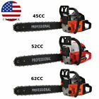45cc/52cc/62cc Chainsaw Gasoline Powered Cutting Wood Gas Chain Saw 2 Stroke Fh