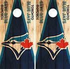 Toronto Blue Jays Cornhole Skin Wrap MLB Wood Decal Vinyl Board Logo Art DR603 on Ebay