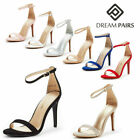 Kyпить DREAM PAIRS Women's Sexy Stilettos High Heel Ankle Strap Party Dress Sandals на еВаy.соm