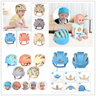 100% Cotton Toddler Safety Helmet Baby Kids Head Protection Hat for Walking Craw