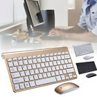 Set 2.4G Wireless Tastiera Mouse Per Cordless Laptop Desktop Mac Office Casa