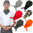 Colourfull Pirates Chef Cap Skull Cap Professional Catering Various Chef HatWCP