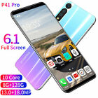P41 Pro 8+128gb 6.1'' Mobile Phone Face Gsm 2 Sim Screen Unlock Android 9.1 New